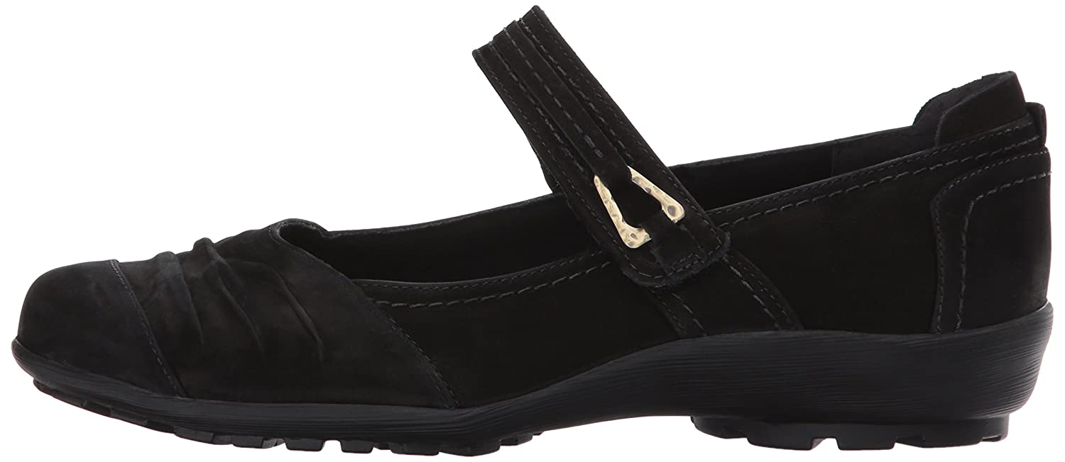 Walking Cradles Women's Hayden Loafer B01NCZ9AJV 8 W US|Black Roughout Leather