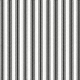 Carousel Designs Onyx Ticking Stripe Fabric by the Yard - Organic 100% Cotton