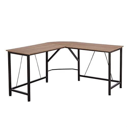 Amazon Basics L-Shape Office Corner Desk