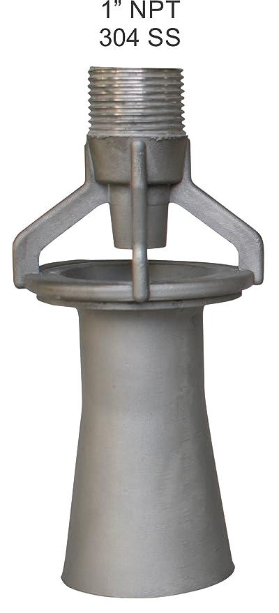 Amazon.com: Tanque Boquilla mezcladora – eductor – Acero ...