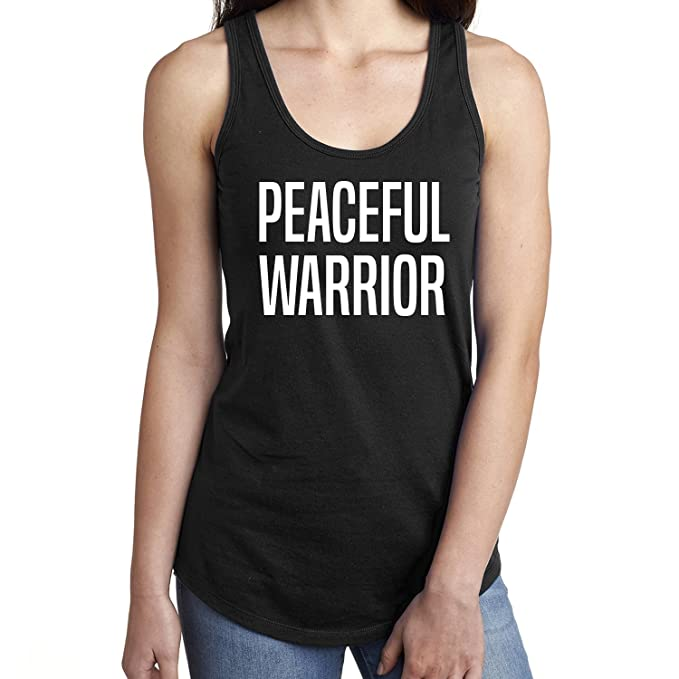 fd9457ee25ec0 Peaceful Warrior Racerback Tank at Amazon Women s Clothing store