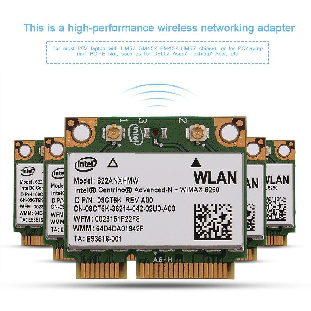 Amazon.com: 2.4G + 5G Dual-Band Mini PCI-E WIFI Wireless ...