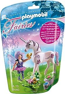 playmobil 5440 figurine fe cuisinire avec licorne violette