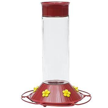 Perky-Pet 209B - Comedero de colibrí de cristal con néctar