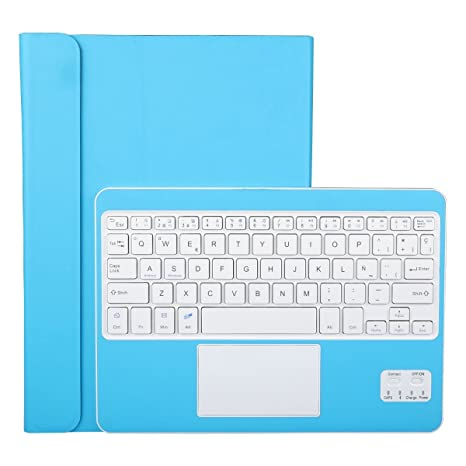 Funda con Teclado Bluetooth CoastaCloud Teclado Bluetooth Inalámbrico 3.0 QWERTY Español con Multi Touchpad: Amazon.es: Electrónica