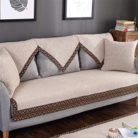 Beau AFAHXX Thicken Couch Covers, Solid Color Minimalism Decorative Slipcover Sofa  Cover Slipcover Sofa Slipcover Cushion