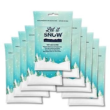Amazon.com: Deja que nieve instantánea en polvo – Hace ...