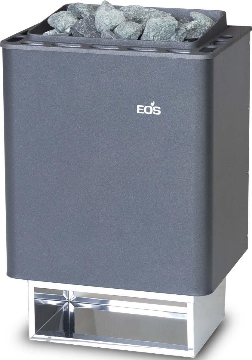 EOS 945479 EOS Sauna Forno (Wand Ausf.) Effetto perlato Antracite Thermat 4,5 KW,