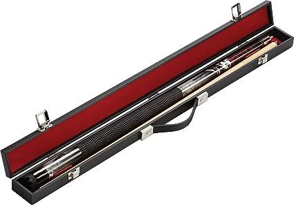 Fat Cat Q-Vault Billiard/Pool Cue Hard Case, Holds 1 Complete 2-Piece Cue (1 Butt/1 Shaft)