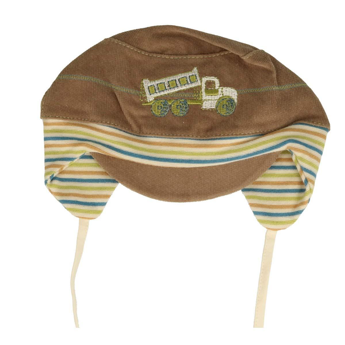 New Baby Boy Cotton Rich Hat Boys Spring Autumn Cap Hat 0-18 Months 3-6 Months 42cm, Dino White Blue