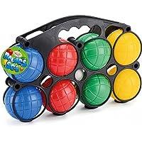 Wilton Bradley Classic Plastic Boule Balls Set - Garden Game | 8 Piece