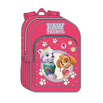 La Patrulla Canina 46823A1 Girl Mochila Escolar, 15.6 litros, Color Rosa: Amazon.es: Equipaje
