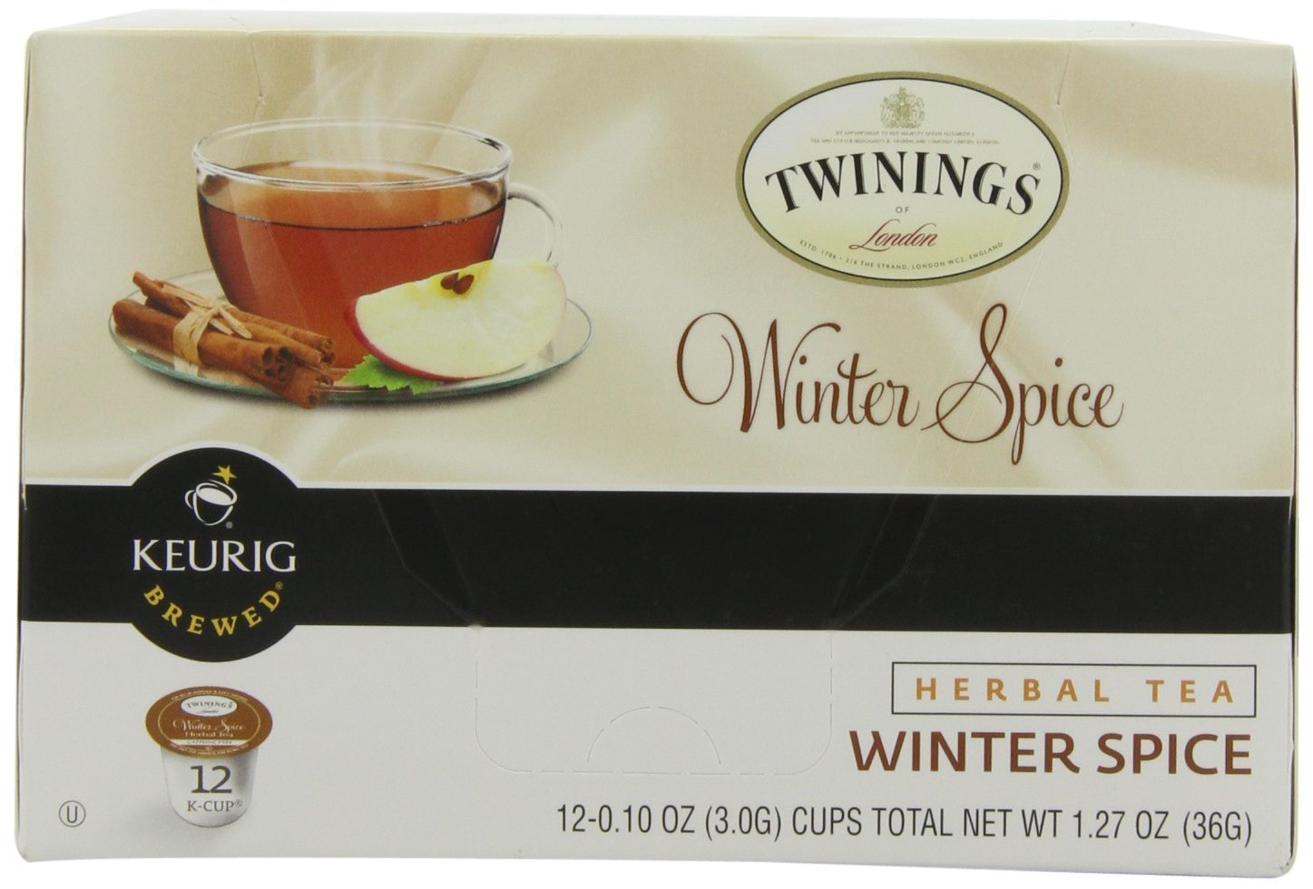Twinings Winter Spice Herbal Tea Keurig K-Cups, 72 Count by Twinings