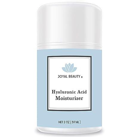 Joyal Beauty Best Hidratante ácido hialurónico para ojos faciales. Crema facial reafirmante antiarrugas orgánica natural