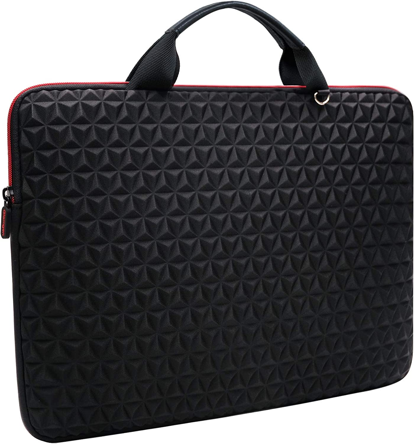 Laptop Sleeve Case 15.6 Inch, Water Resistant Slim Computer Bag for 15.6 inch Lenovo, HP, Dell, Asus Notebook,Samsung, Sony, Chromebook, Ultrabook,Gifts for Men and Women, Black