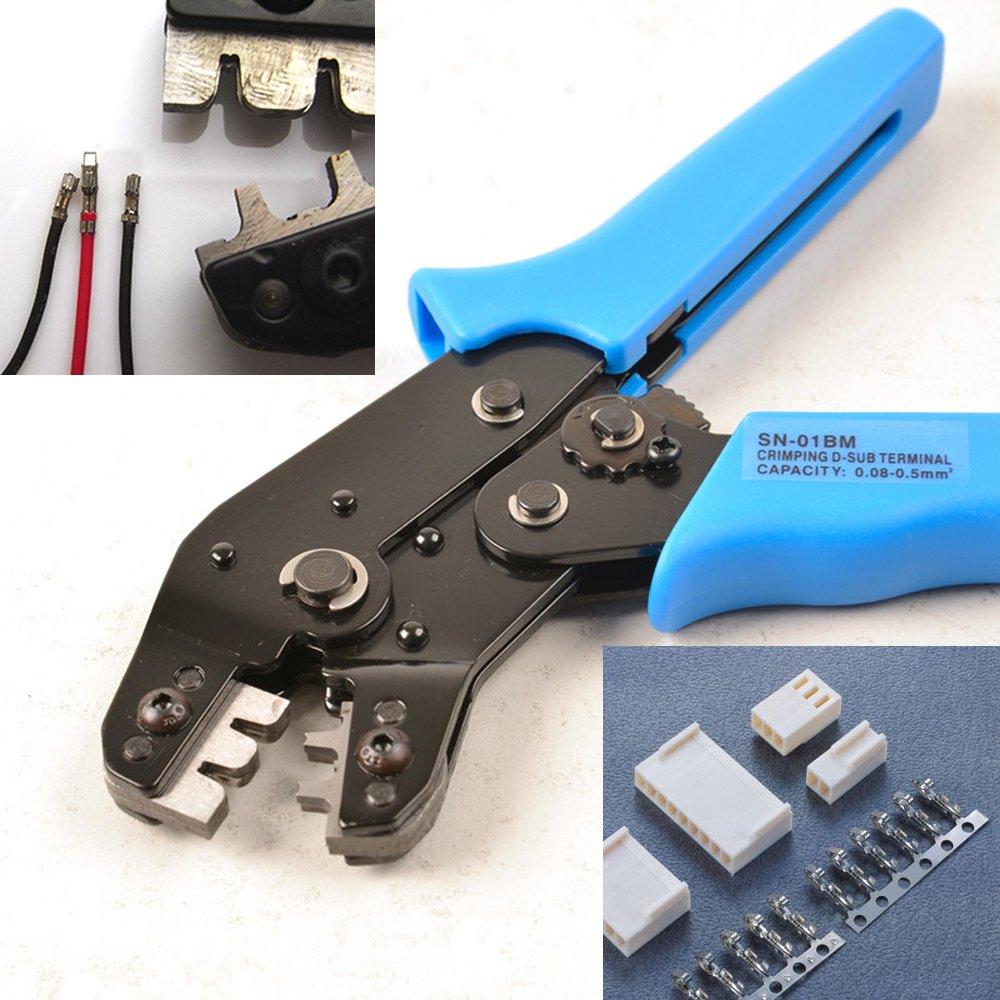 900/pcs Jst-xh 2.54/mm Connecteurs Assortiment kit Ensemble de pince /à sertir