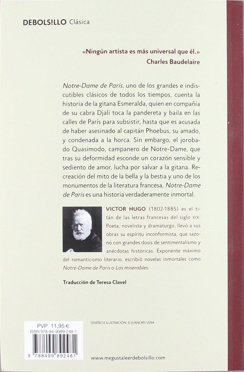 Notre-Dame de París (CLÁSICA): Amazon.es: Victor Hugo ...