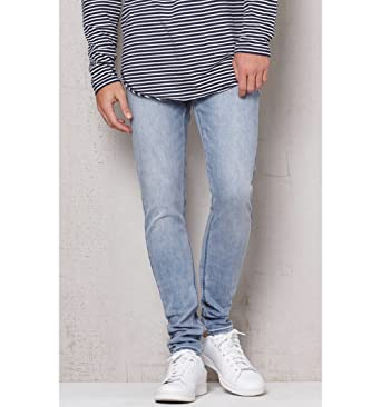 Pacsun Mens Stacked Skinny Active Stretch Light Jeans at Amazon ... 9e2d41566