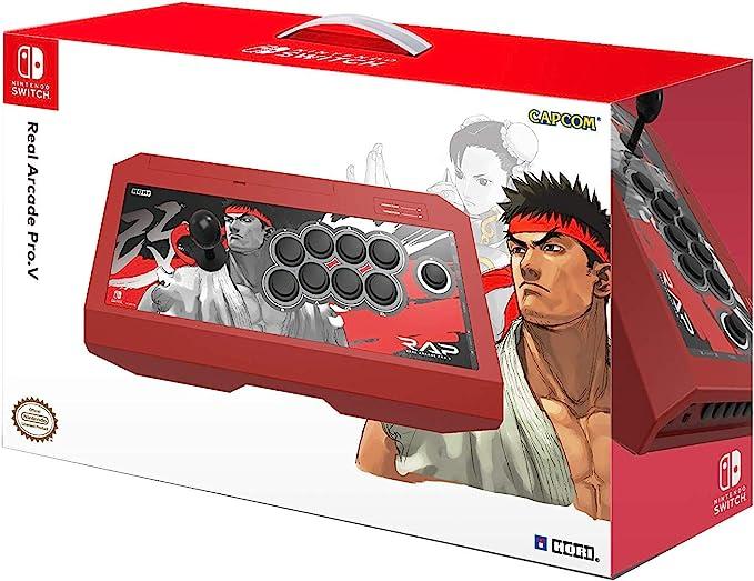 Hori - Real Arcade Pro.V Hayabusa, Edición Street Fighter II Ryu ...