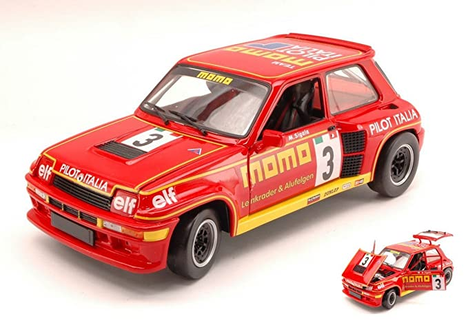 Universal Hobbies UH4546 Renault 5 Turbo N.3 Momo Turbo Cup 1984 M.SIGALA 1:18: Amazon.es: Juguetes y juegos