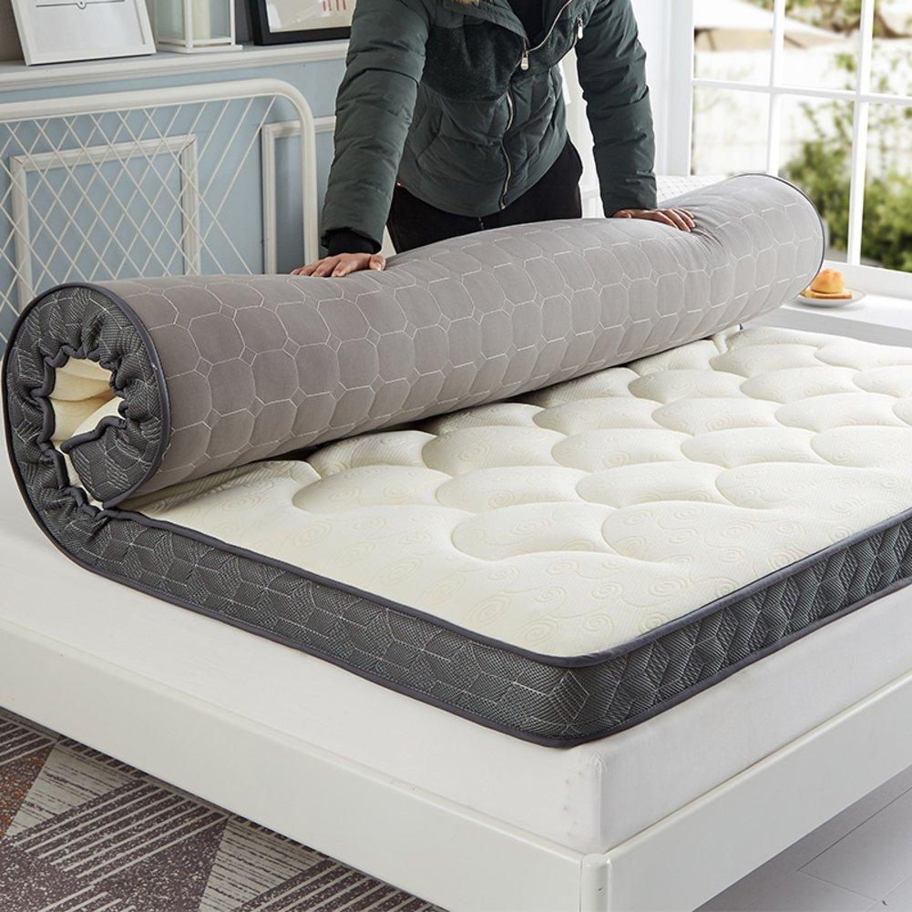 HXYL Premium Hypoallergenic Mattress Pad Padded Mattress Bed Tatami Mat Simmons Floor Sponge Mat Bed Mattress Protector-A 90x200cm(35x79inch)
