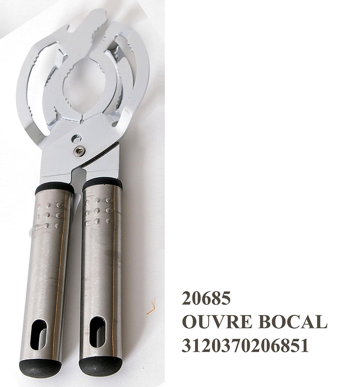Apri tappo svita tappo coperchio barattolo utensile da cucina multifunzione in metallo