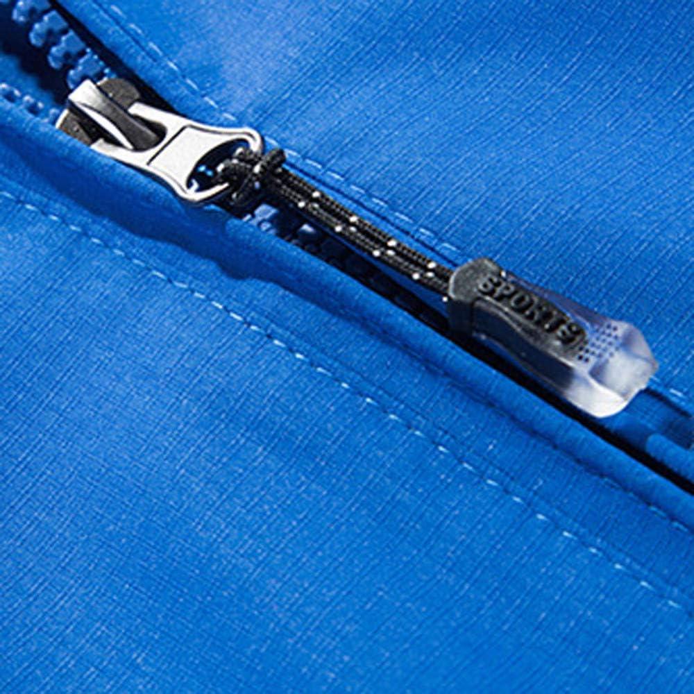 Balakie Mens Mountaineer Fast Drying Windbreaker Outdoor Solid Sportswear Jacket