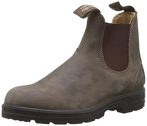 latest collection exceptional range of styles best service Blundstone 585 Unisex Super 550 Rugged Lux Boot, Rustic Brown, 10 Women / 8  Men