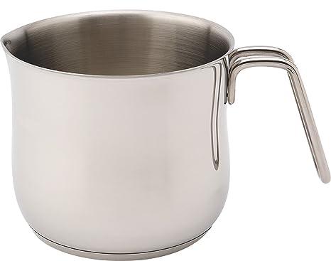 Amazon.com: Zinel - Cazo para leche, acero inoxidable, 5.9 ...