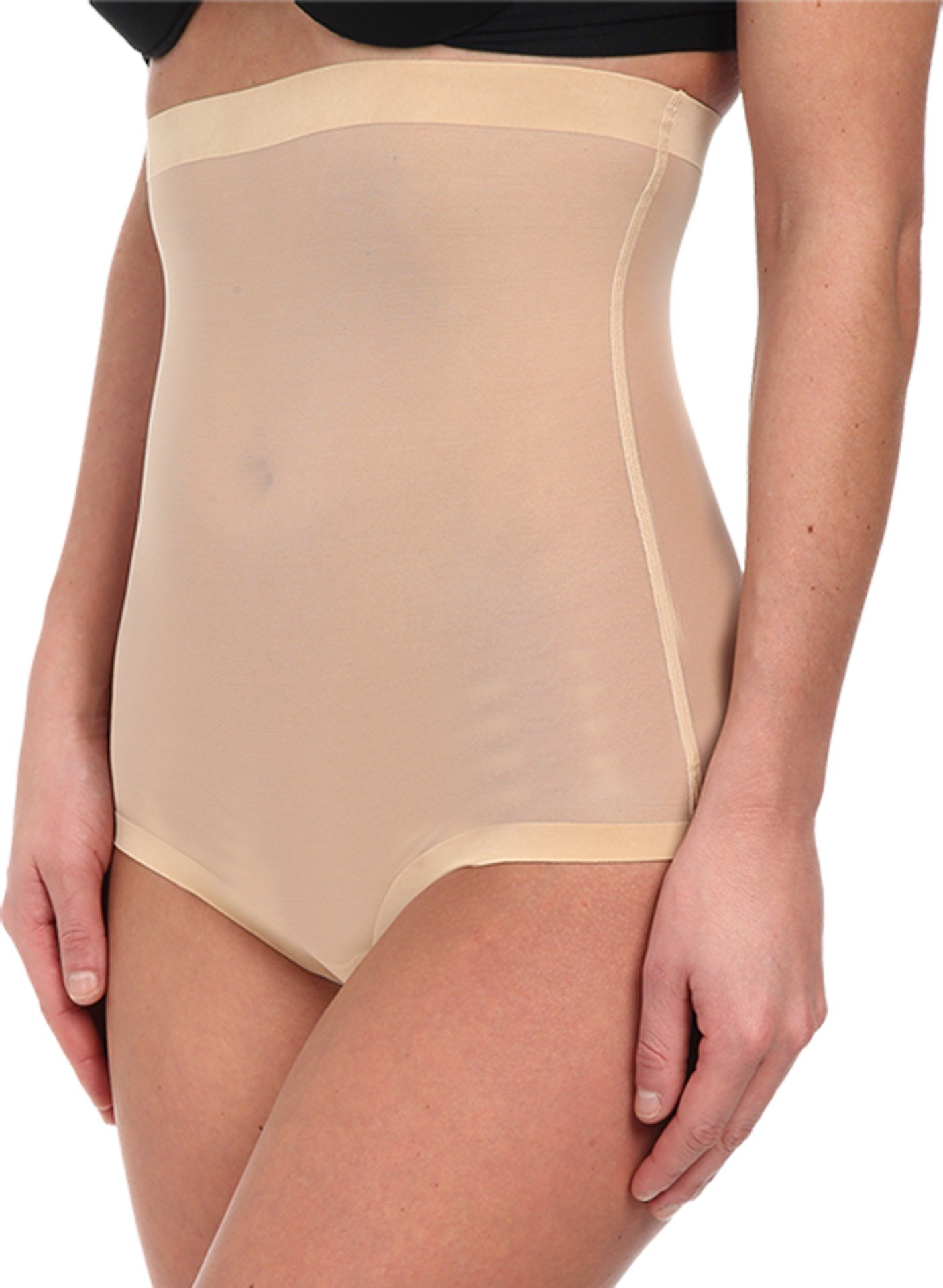Wolford Women's Tulle Control Panty High Waist Nude 34 by Wolford (Image #1)