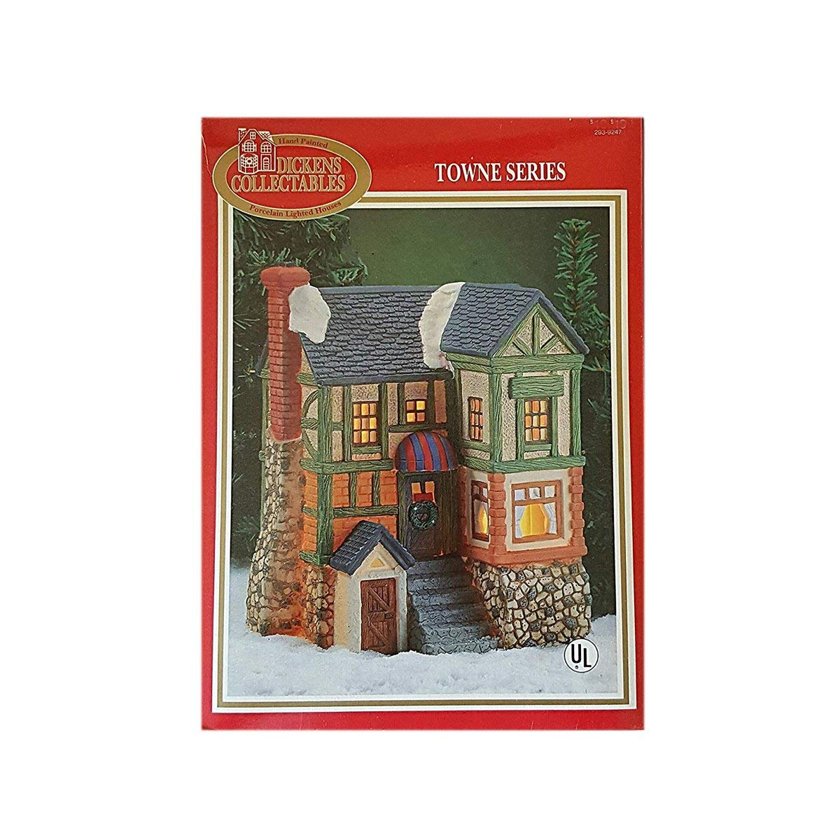 Dickens Collectables Porcelain House Towne Siries 293-9247