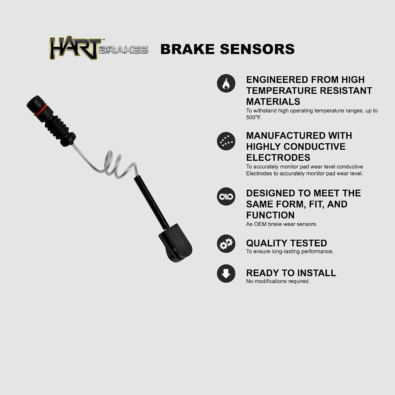 For Mercedes-Benz C240 C230 Front  Drill Slot Brake Rotors+Ceramic Brake Pads