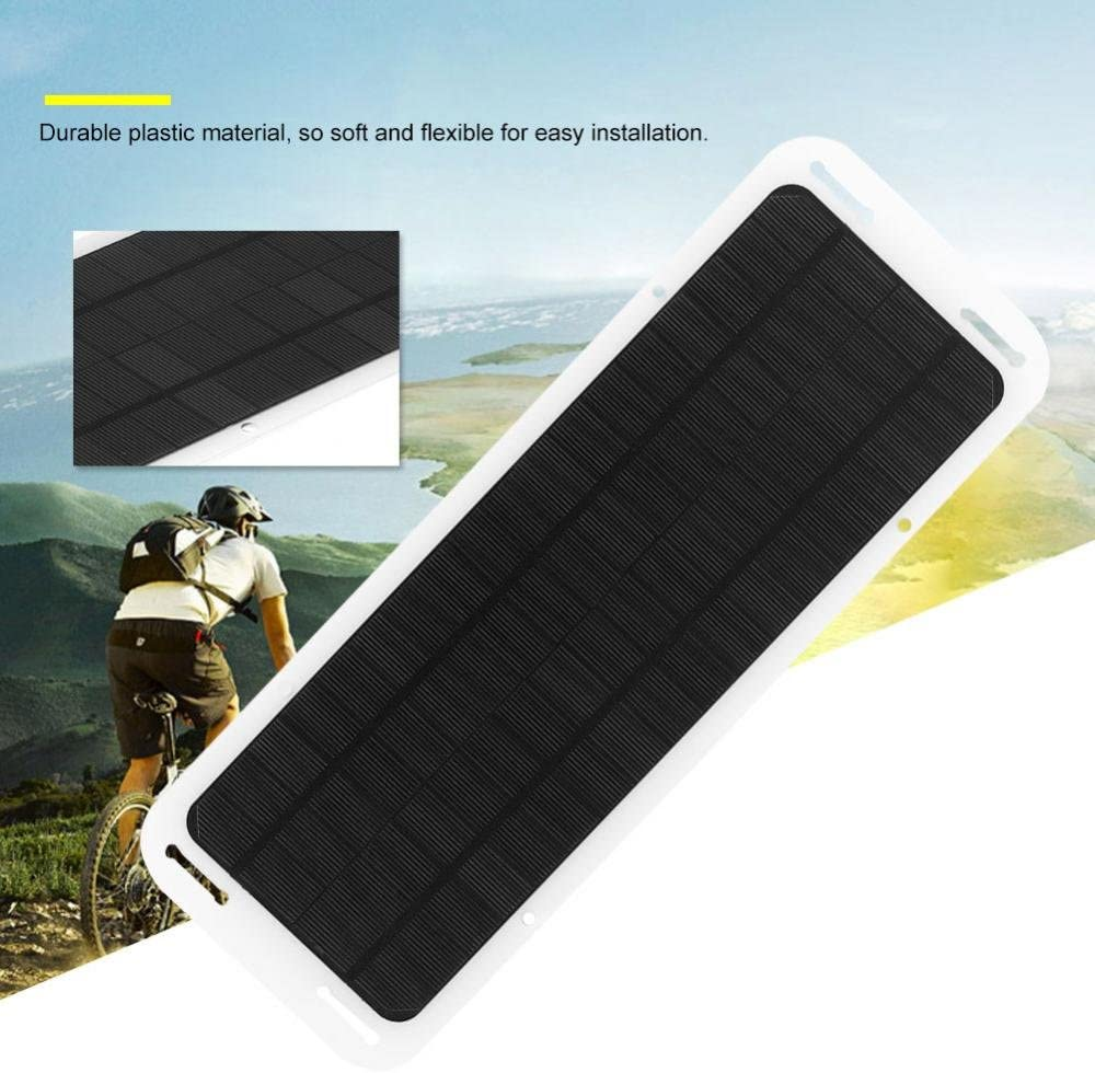Most cameras Bluetooth Speakers Tablet Mobile Power Bank Eboxer 5W 18V Portable Solar Panel Ultra-thin Power Bank with USB Charging Port for Mobile Phones Hand-held Games Consoles