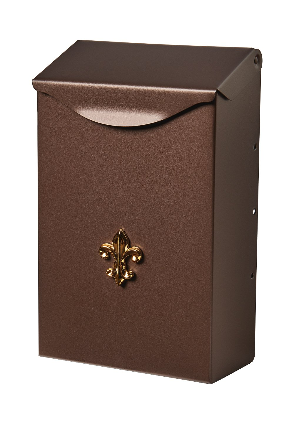 Gibraltar Mailboxes Classic Small Capacity Galvanized Steel Venetian Bronze, Wall-Mount Mailbox, BW110V04
