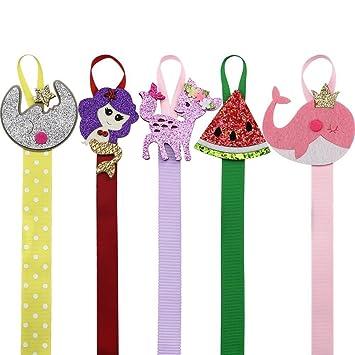 """22/"""" Kids Girls Hair Bow Hair Clip Holder Grosgrain Storage Organizer Accessories"""