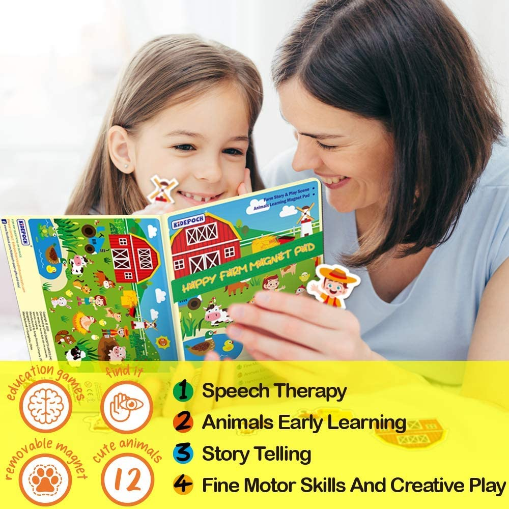 NEW 2 puzzles jigsaw kids magnet hebrew a tale of five balloons 6//12pcs game
