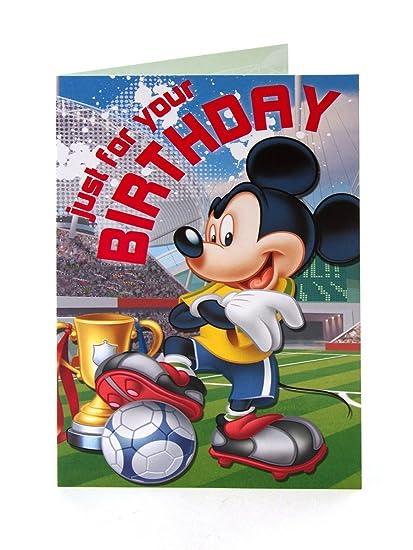 disney mickey mouse para tu cumpleaños tarjeta de cumpleaños ...