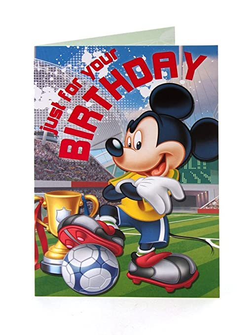 Amazon.com: disney mickey mouse just for your birthday ...
