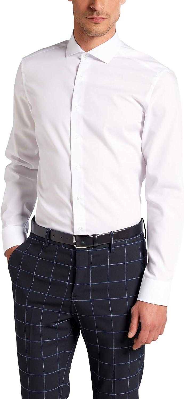 Eterna Long Sleeve Shirt Slim FIT Poplin Uni