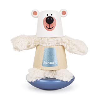 Janod Zigolos Bear Stacker & Rocker Baby Toy