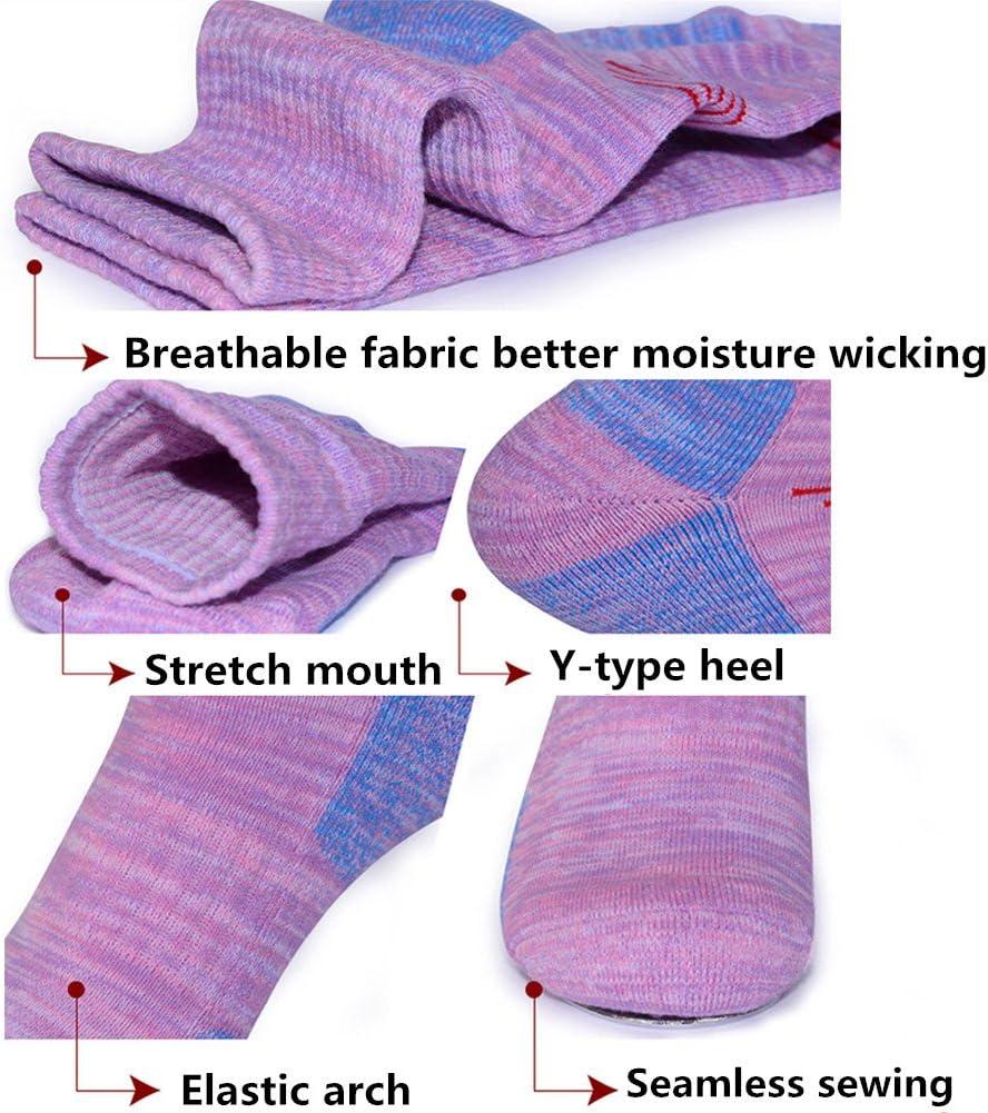 SUMKIA LIFE Chaussettes pour Femmes en Coton de randonn/ée con/çue sp/écialement pour lesport de Plein air dhiver lescalade la Randonnee p/édestre Le Ski