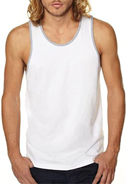 2aa464399fbded Image Unavailable. Image not available for. Color  Next Level Apparel Men s  Jersey Tank Top