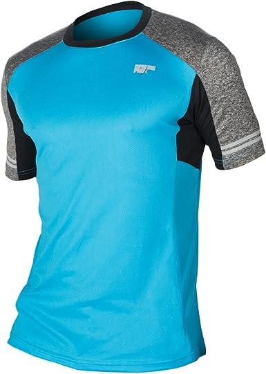 SPHERE-PRO 7018033S Camiseta Deportiva, Hombre, Azul (Turquesa), 36/S: Amazon.es: Ropa y accesorios