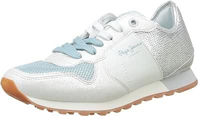 Pepe Jeans Verona W Sequins, Zapatillas Mujer: Amazon.es: Zapatos y complementos