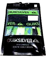 QUIKSILVER Boys Boxer Briefs 2 Pair Size S/6-7