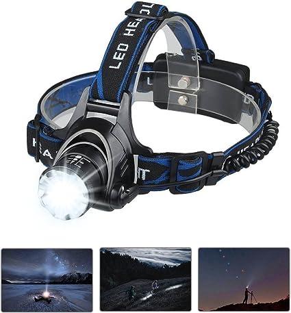 Bright 11 LED Clip On Cap Light Torch Hiking Cycle Camping Fishing Headlight POU