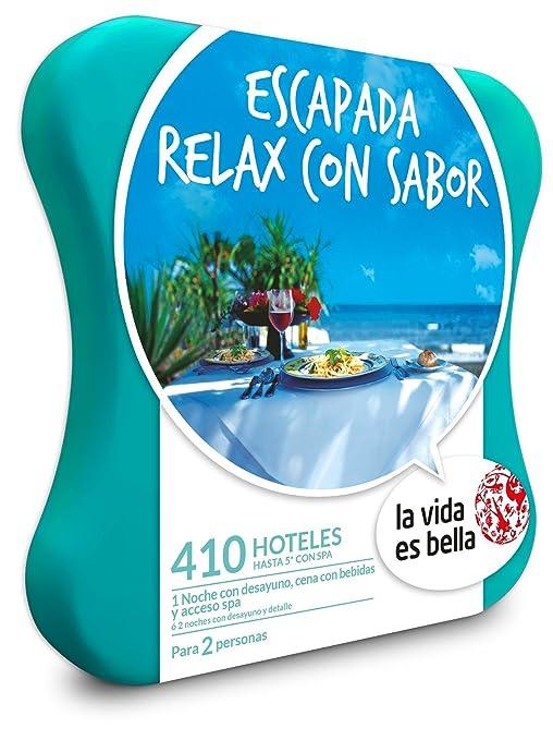 LA VIDA ES BELLA - Caja Regalo - ESCAPADA RELAX CON SABOR - 410 hoteles hasta