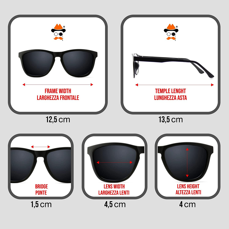 e4541950b1 Glasses neutral Hippie - mod. BREAKING BAD Walter - optical frame VINTAGE  man woman unisex - BLACK  Amazon.co.uk  Clothing