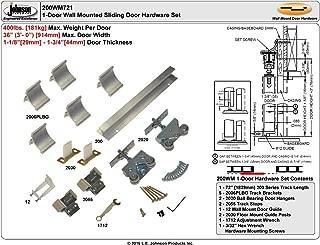 """product image for 200WM Wall Mount""""Barn Door Type"""" Sliding Door Hardware (96"""")"""