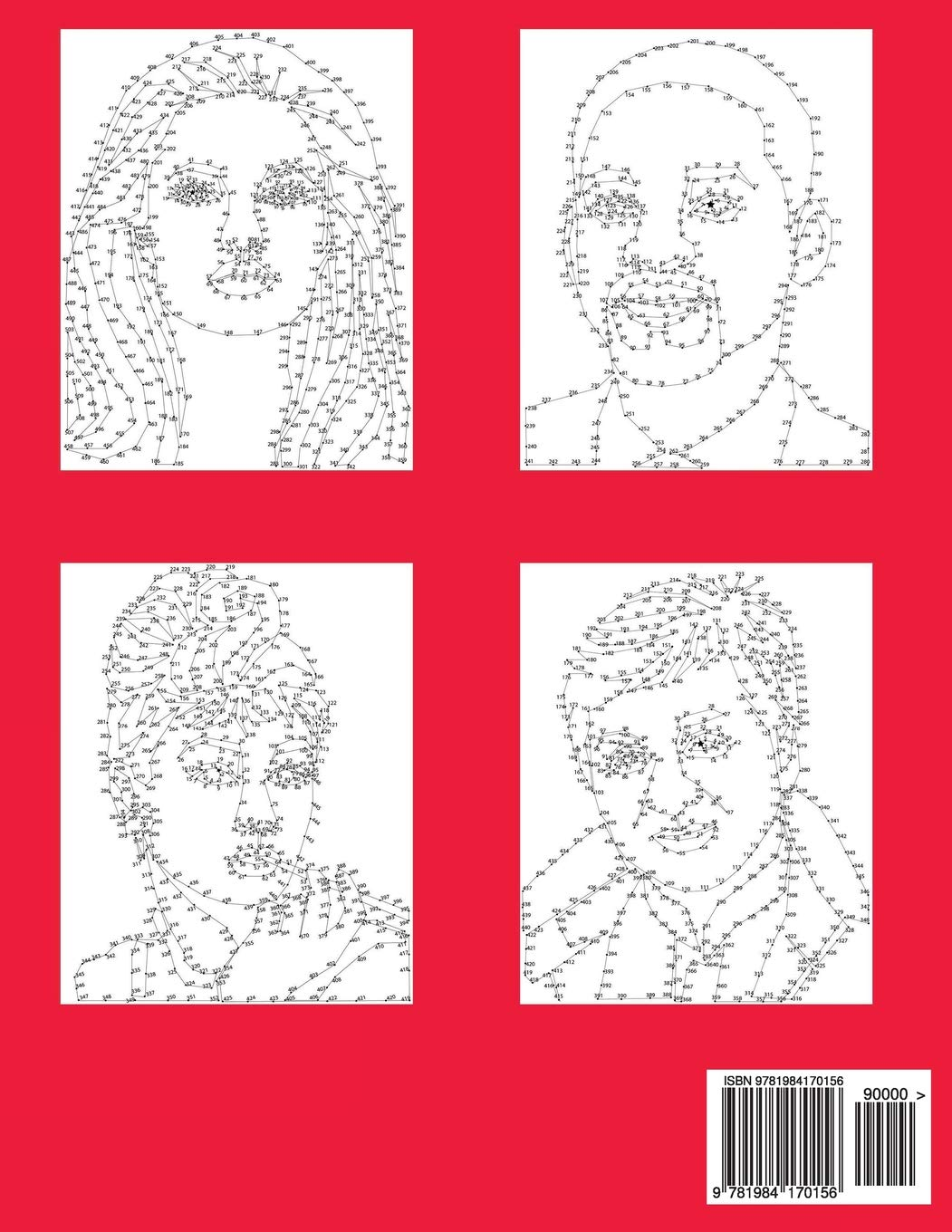 From 160 to 510 Dots Big Book of Extreme Dot-to-Dot Famous Faces